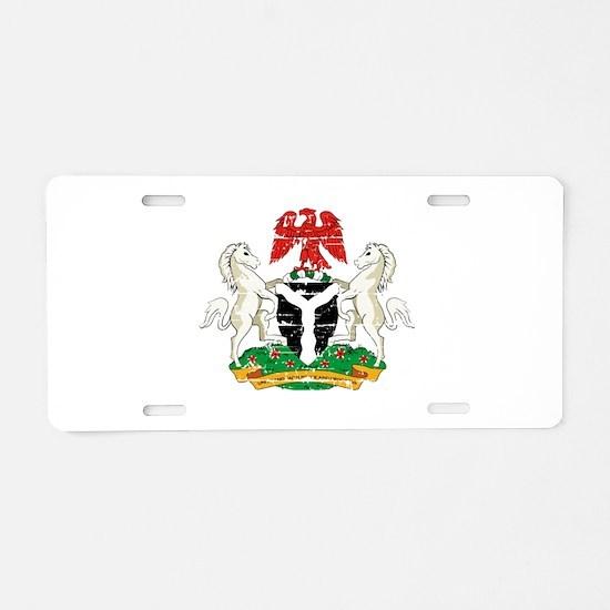 Nigeria designs Aluminum License Plate