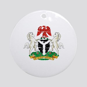 Nigeria designs Ornament (Round)