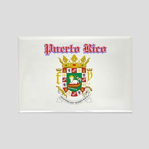 Puerto Rico designs Rectangle Magnet