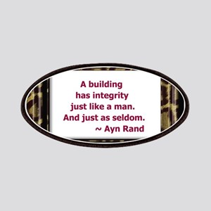 Ayn Rand Quote Patches