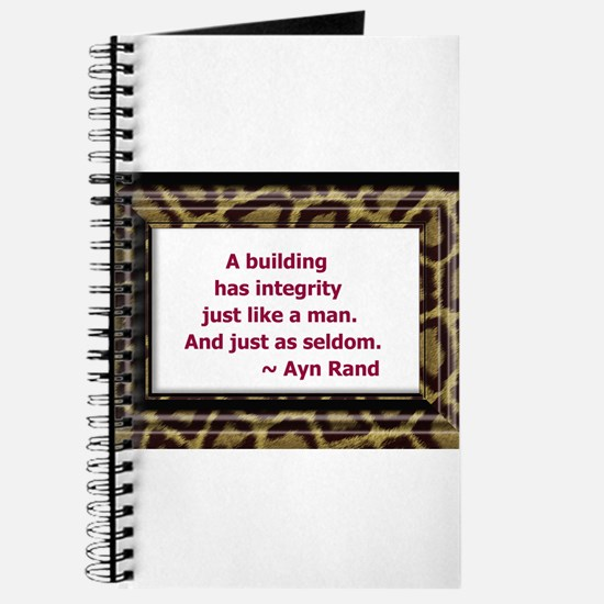 Ayn Rand Quote Journal