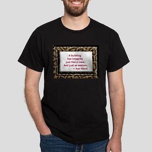 Ayn Rand Quote Dark T-Shirt