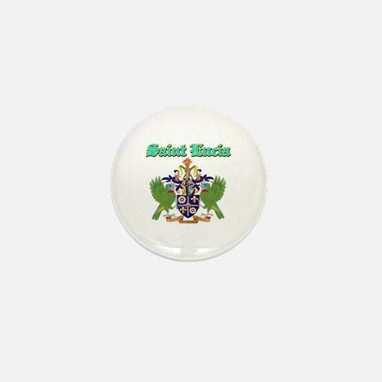 Saint Lucia designs Mini Button