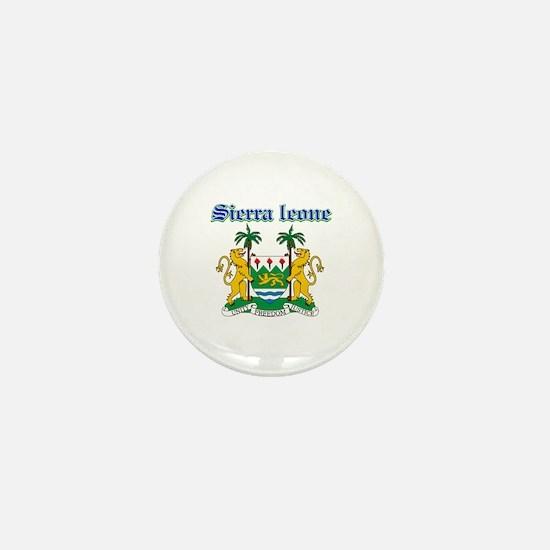 Sierra Leone designs Mini Button