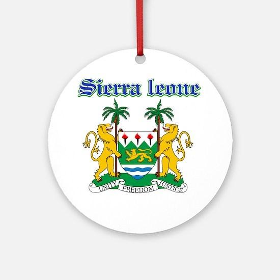 Sierra Leone designs Ornament (Round)