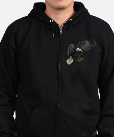 Bald Eagle Flying Sweatshirt