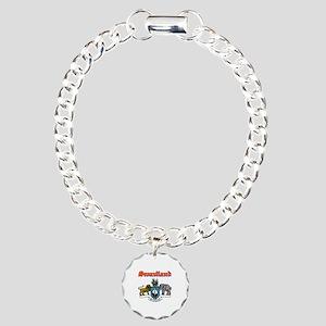 Swaziland designs Charm Bracelet, One Charm