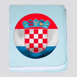 Croatia Football baby blanket
