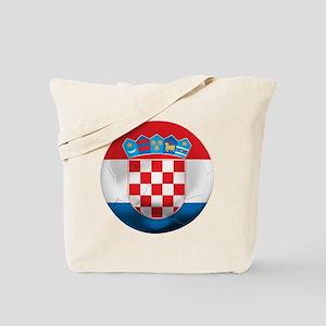 Croatia Football Tote Bag