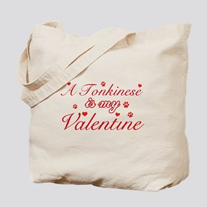 A Tonkinese is my valentine Tote Bag