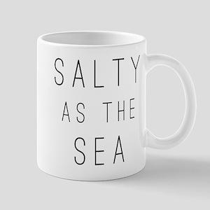 Salty As The Sea 11 oz Ceramic Mug