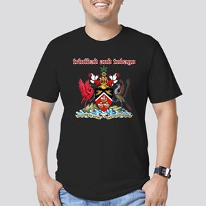 Trinidad And Tobago designs Men's Fitted T-Shirt (