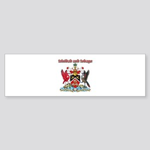 Trinidad And Tobago designs Sticker (Bumper)