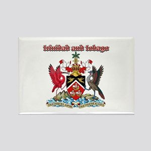 Trinidad And Tobago designs Rectangle Magnet