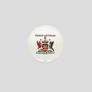Trinidad And Tobago designs Mini Button
