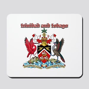 Trinidad And Tobago designs Mousepad