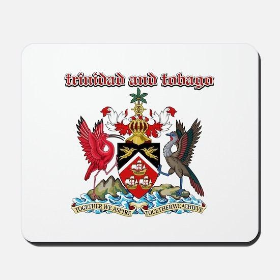 Trinidad And Tobago designs Mousepad