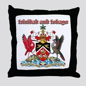 Trinidad And Tobago designs Throw Pillow