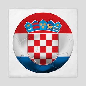 Croatia Football Queen Duvet
