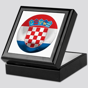 Croatia Football Keepsake Box