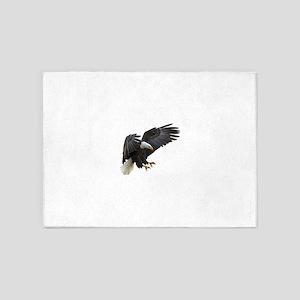 Bald Eagle Flying 5'x7'Area Rug