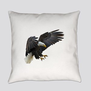 Bald Eagle Flying Everyday Pillow