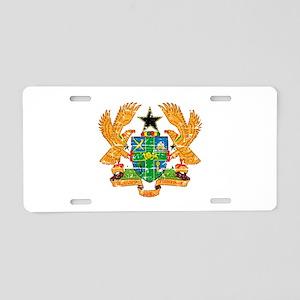 Ghana designs Aluminum License Plate