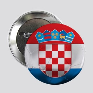 "Croatia Football 2.25"" Button"