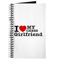 Cool Chess Girlfriend designs Journal