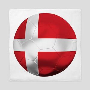 Denmark Football Queen Duvet