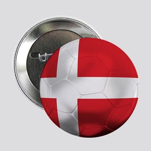 "Denmark Football 2.25"" Button"