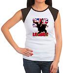 Deviross Women's Cap Sleeve T-Shirt