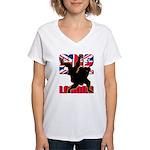 Deviross Women's V-Neck T-Shirt