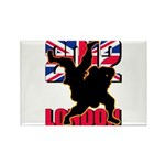Deviross Rectangle Magnet (100 pack)