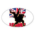 Deviross Sticker (Oval 10 pk)