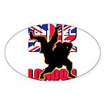 Deviross Sticker (Oval 50 pk)