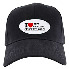 Cool Fencer Girlfriend designs Baseball Hat