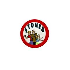 STONED Mini Button (100 pack)