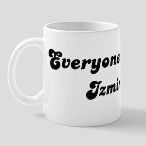 Loves Izmir Girl Mug