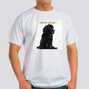 Newfs dRule! Ash Grey T-Shirt