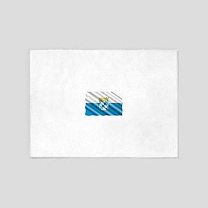 Bavaria Flag 5'x7'Area Rug