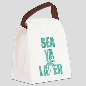 Sea Ya Later Canvas Lunch Bag