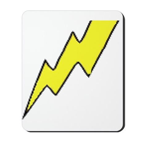 Lightening Bolt Mousepad