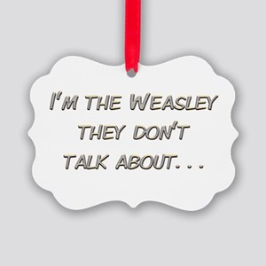 Weasley Redhead Picture Ornament
