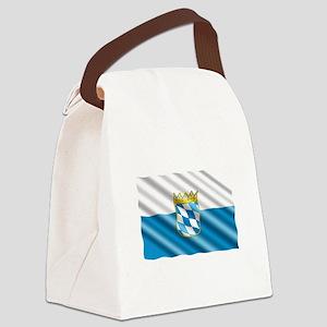 Bavaria Flag Canvas Lunch Bag