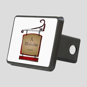 Jamie A. Malcolm Printer Rectangular Hitch Cover