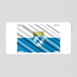 Bavaria Flag Aluminum License Plate