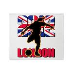 Soccer 2012 London Throw Blanket