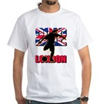 Soccer 2012 London White T-Shirt