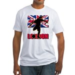 Soccer 2012 London Fitted T-Shirt